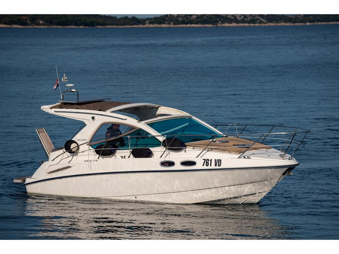 Rent this Sealine Sealine SC 29 for a true nautical adventure
