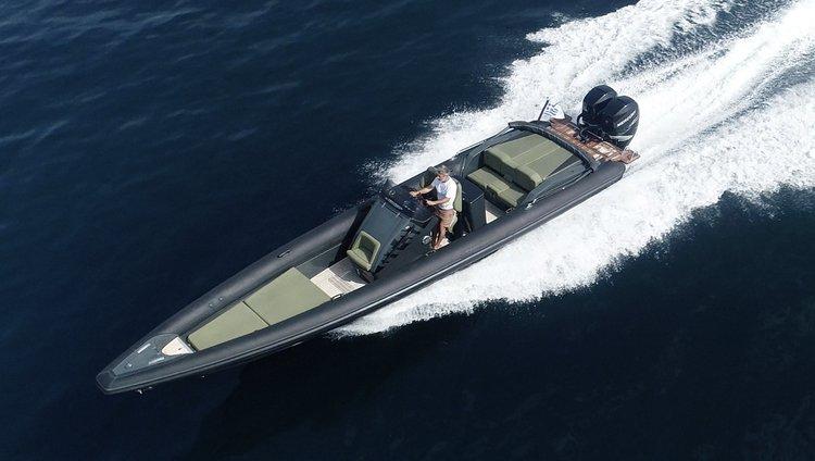 Alimar – Technohull GT 37 – 2x300HP Verado