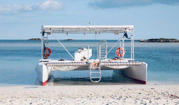Explore the Turks and Caicos in this beautiful Catamaran