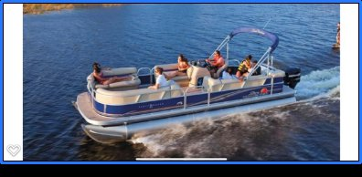 Pontoon boat for rent in San Diego