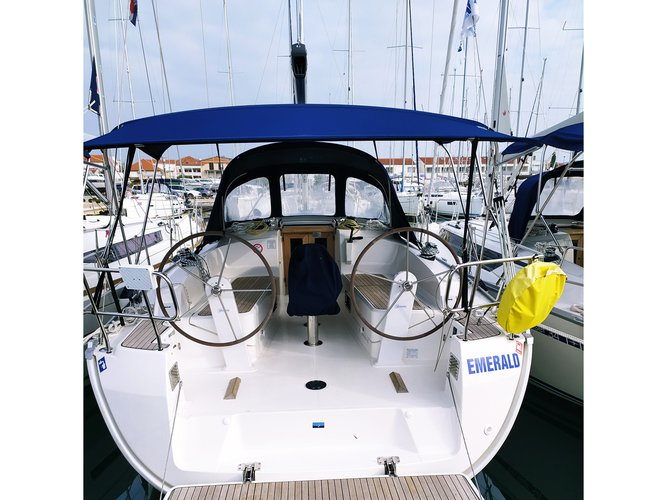 Enjoy luxury and comfort on this Bavaria Yachtbau Bavaria Cruiser 37 in Pirovac