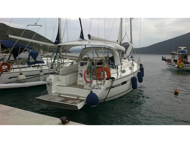 Get on the water and enjoy Volos in style on our Bavaria Yachtbau Bavaria Cruiser 36