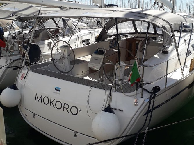 Experience Scarlino - Puntone on board this elegant sailboat