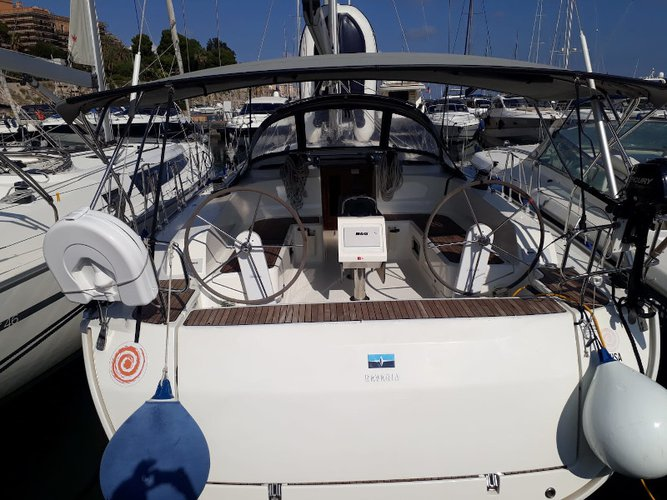Sail the beautiful waters of Palermo on this cozy Bavaria Yachtbau Bavaria Cruiser 46