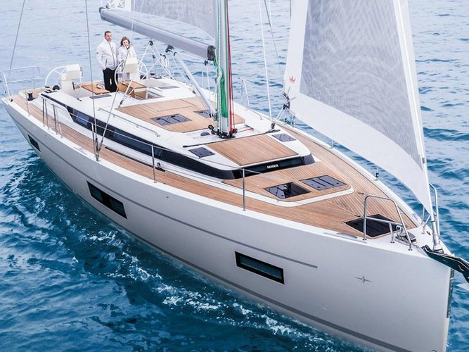 Enjoy Skiathos, GR to the fullest on our comfortable Bavaria Yachtbau Bavaria C45