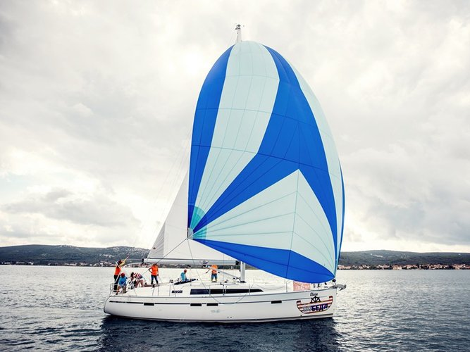 Get on the water and enjoy Pirovac in style on our Bavaria Yachtbau Bavaria Cruiser 46