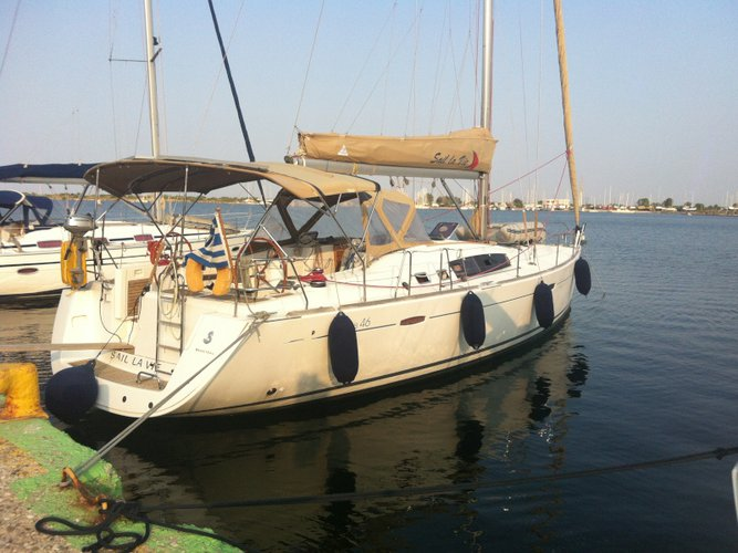 Explore  on this beautiful sailboat for rent