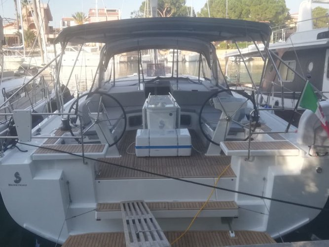 Charter this amazing Beneteau Oceanis 51.1 in Furnari, IT