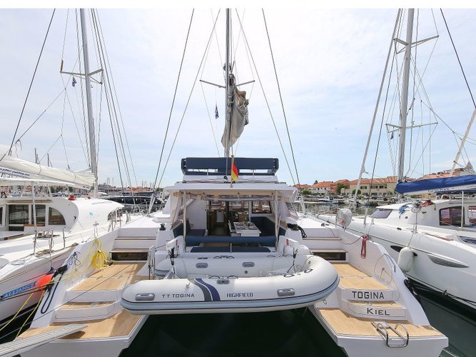 Enjoy luxury and comfort on this Catamarans Nautitech Nautitech 46 Fly in Rogoznica