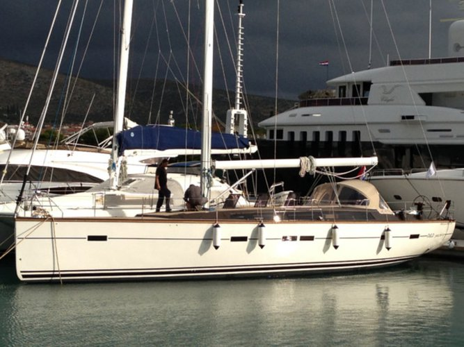 Unique experience on this beautiful D&D Yachts D&D Kufner 54
