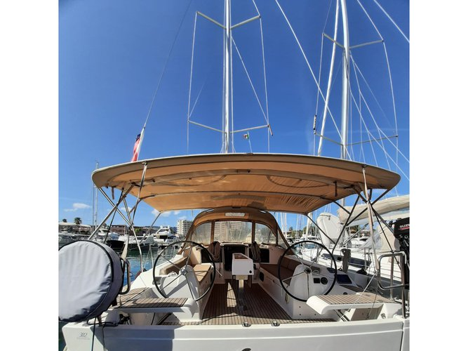 Sail Balestrate, IT waters on a beautiful Dufour Yachts Dufour 382 Grand Large Notus 2016