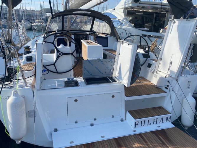 Experience Alicante, ES on board this amazing Dufour Yachts Dufour 460