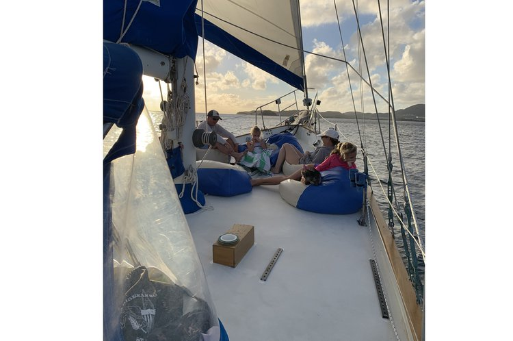 Ketch boat rental in Compass Point Marina,