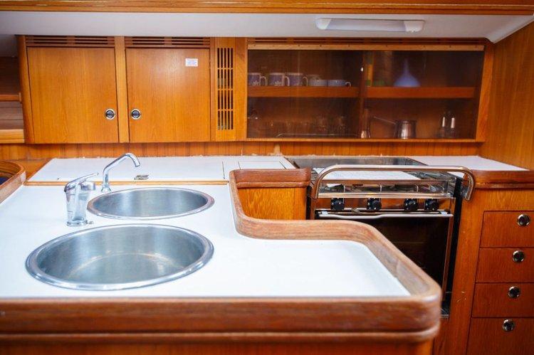 Sloop boat rental in Genoa, Italy