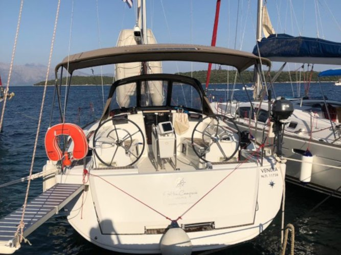Relax on board our sailboat charter in Sami - Kefalonia