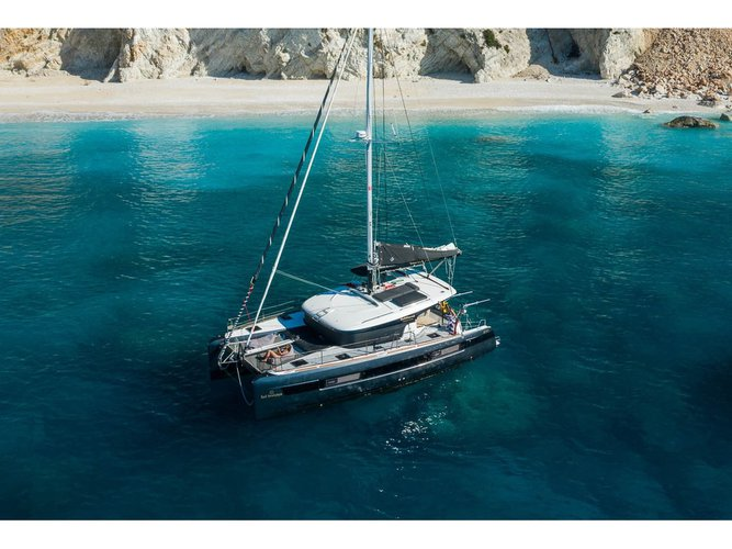 Explore Sami - Kefalonia on this beautiful sailboat for rent