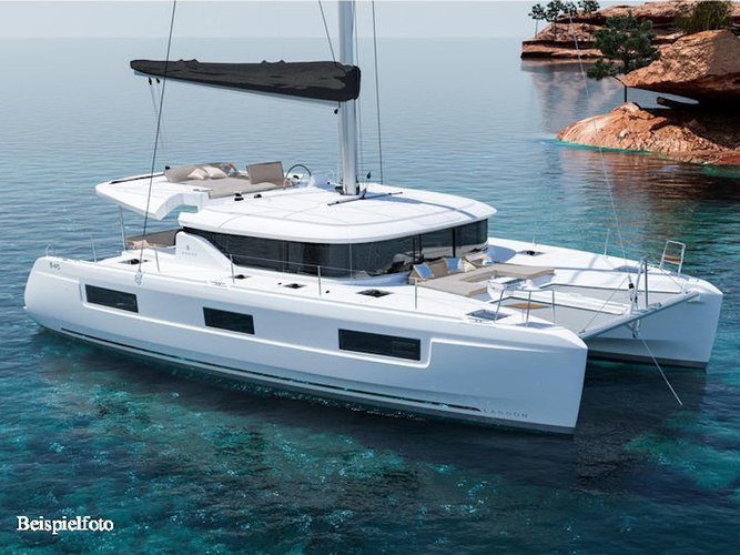 Enjoy luxury and comfort on this Lagoon Lagoon 46 Aurora in Andratx