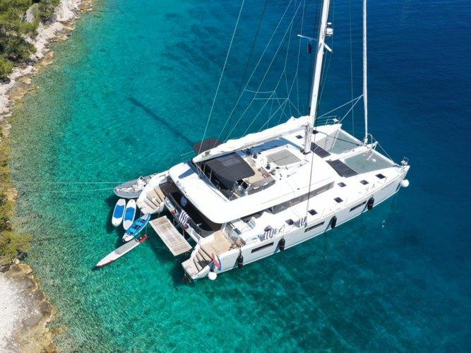 Enjoy luxury and comfort on this Lagoon Lagoon 620 in Split