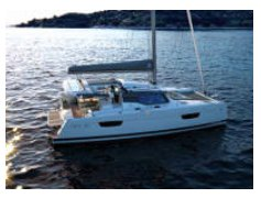 Catamaran boat for rent in New Providence