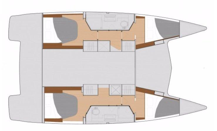 Hop aboard this amazing Catamaran boat rental in US Virgin Islands