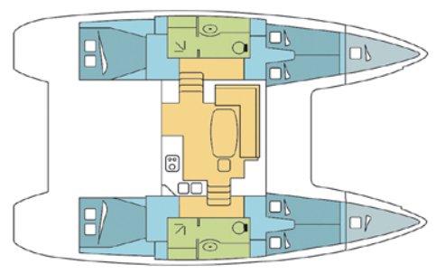 This Catamaran boat rental is perfect to enjoy  in US Virgin Islands