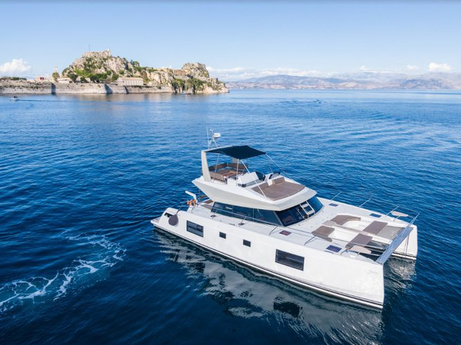 The perfect boat to enjoy everything Corfu, GR has to offer