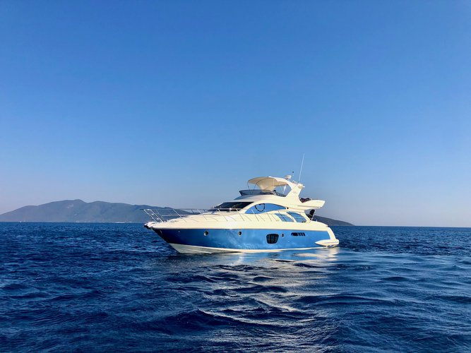 Explore Bodrum on this beautiful motor boat for rent