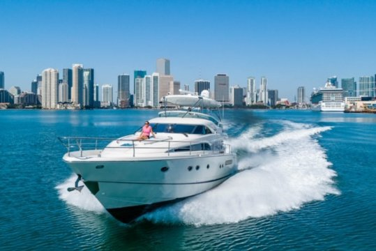 Rent a Luxury Yachting Experience! 64' FairLine