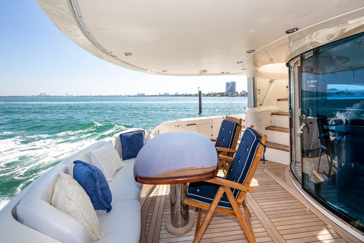 Discover North Bay Village surroundings on this 64F FairLine boat