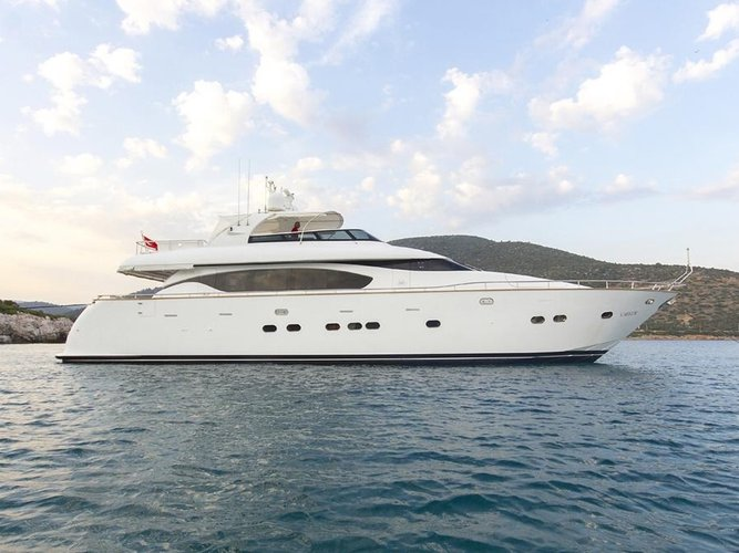 Charter this amazing motor boat in Bodrum