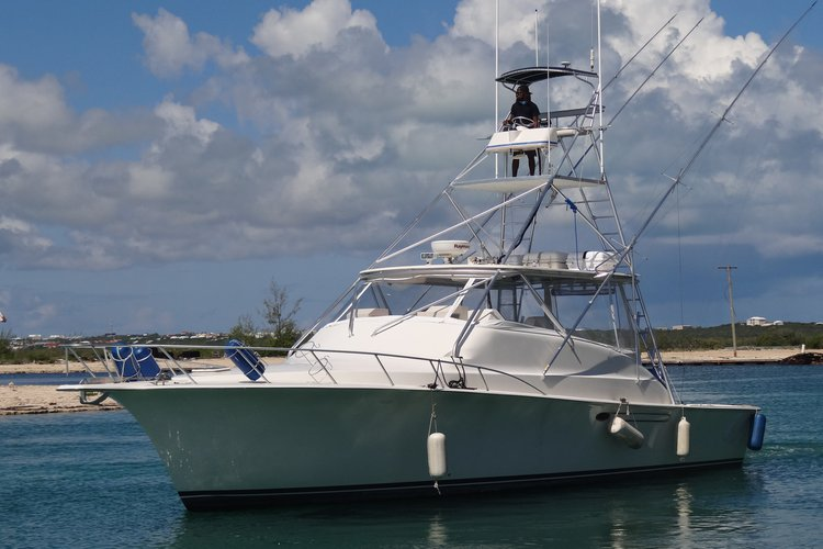 Turks and Caicos Islands' Top Deep Sea Fishing boat