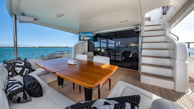 The Queen's Yacht – 88′ Princess