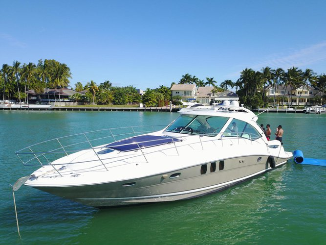 50 Foot motor Yacht - Sea Ray Sundancer up to 10ppl $1,600 for 4hrs   AS Low AS $ 333 per hr - water toys: water carpet, Paddle board, floating noodles, snorkeling goggles! Well maintained yacht!