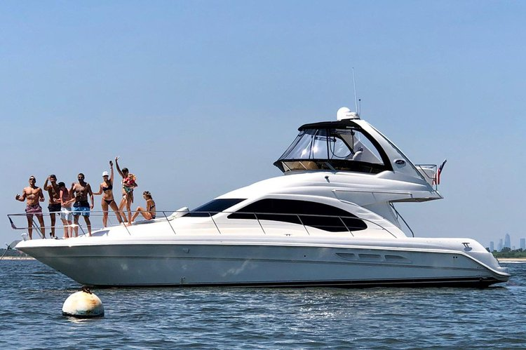 Amazing 46 foot fully loaded Luxury Yacht.   Minutes from Statue of Liberty and NY Harbor!