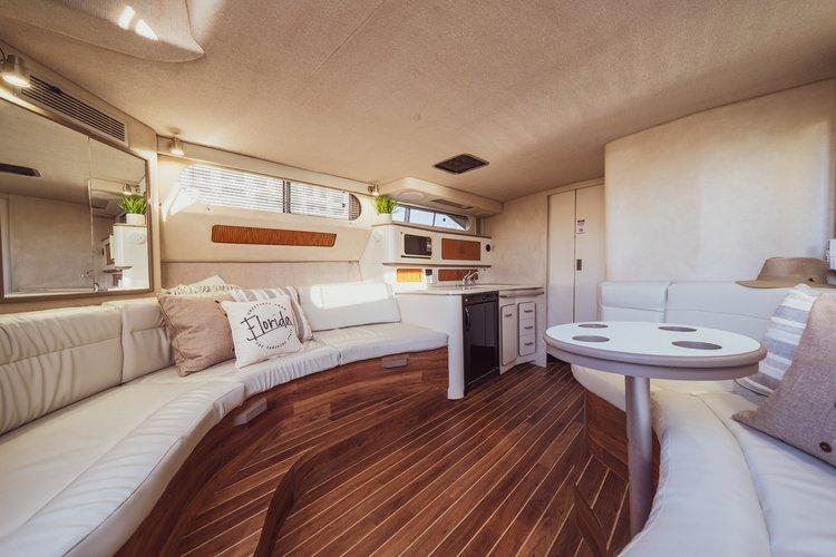 Flybridge boat rental in sea isle marina,