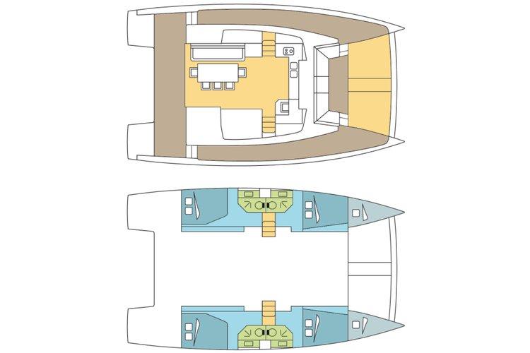 Rent this amazing Catamaran to discover USVI