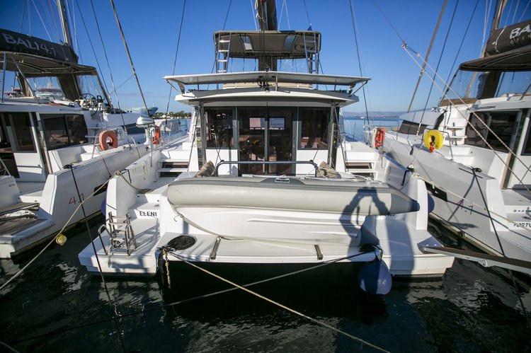 Rent this Bali Catamarans Bali 4.3 for a true nautical adventure