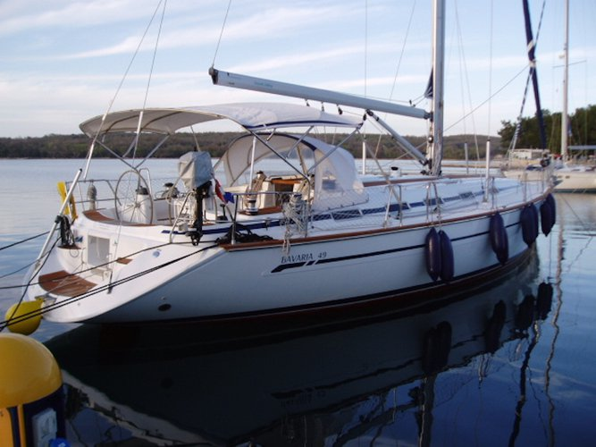 Take this Bavaria Yachtbau Bavaria 49 for a spin!