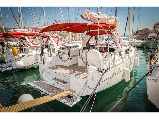 Climb aboard this Beneteau Oceanis 35 for an unforgettable experience
