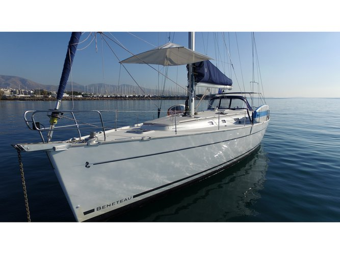 All you need to do is relax and have fun aboard the Beneteau Cyclades 50.5