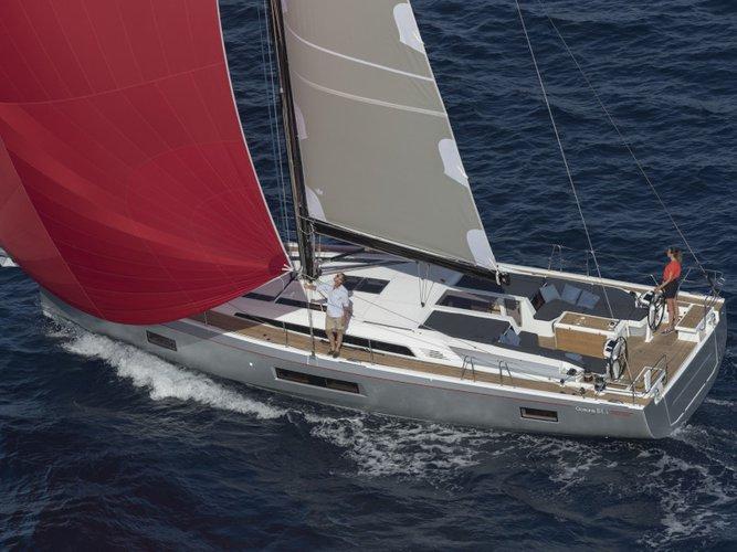 Sail Skopelos, GR waters on a beautiful Beneteau Oceanis 51.1