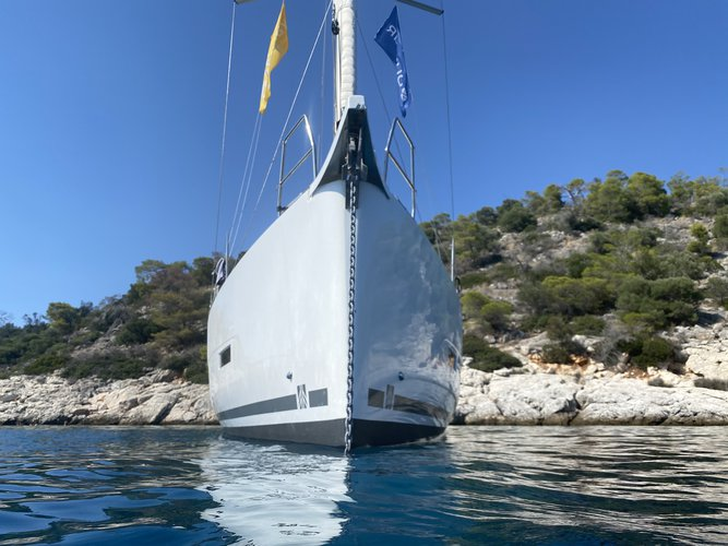 Boat for rent DUFOUR 43.0 feet in Paroikia port, Greece