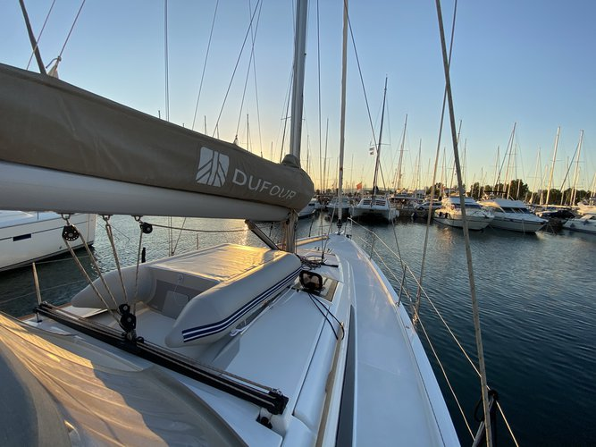 Dufour 430 in Volos