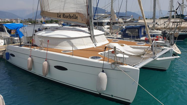 Fountain Pajot Lipari 41 Catamaran with Skipper and Chef available to let in Kas / Antalya / Turkey