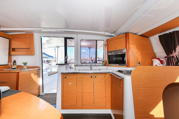 Boat for rent Fountaine Pajot 41.0 feet in Kas Setur Marina, Turkey