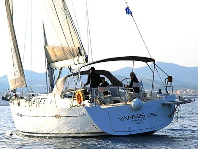 Beautiful Hanse Yachts Hanse 540e ideal for sailing and fun in the sun!