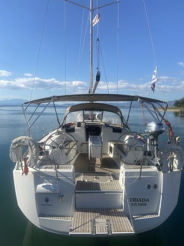 Experience Keramoti on board this elegant sailboat