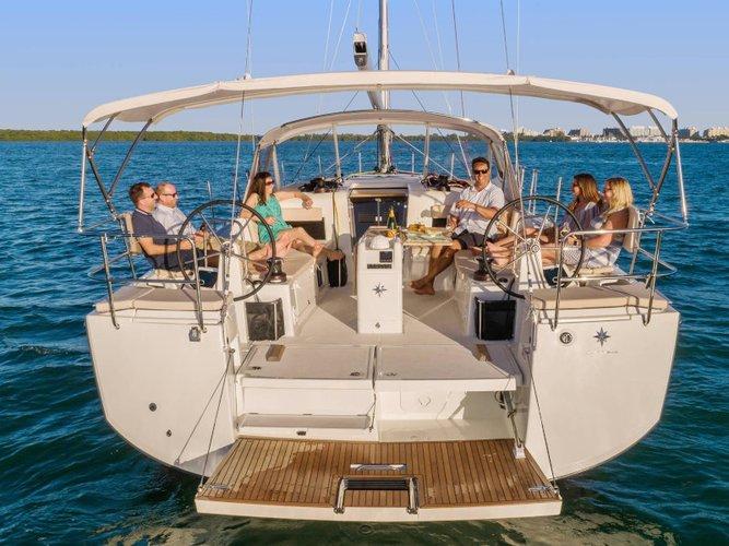 Enjoy luxury and comfort on this Göcek sailboat charter