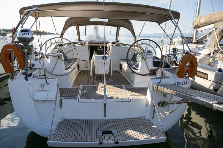 Rent this Jeanneau Sun Odyssey 509 for a true nautical adventure