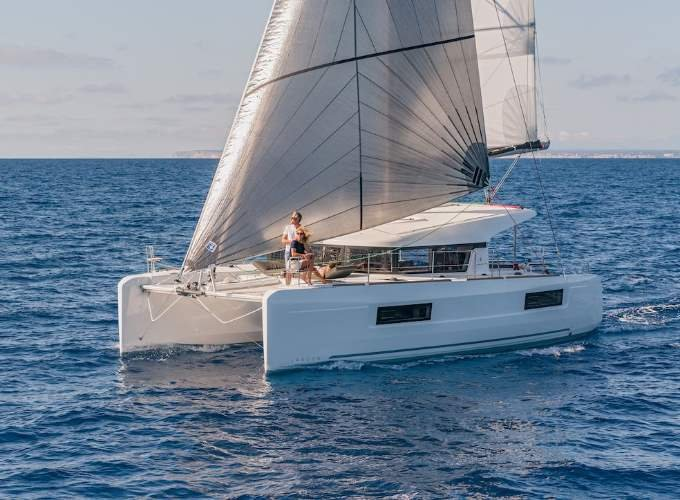 Set your dreams in motion in Abaco aboard Lagoon 40